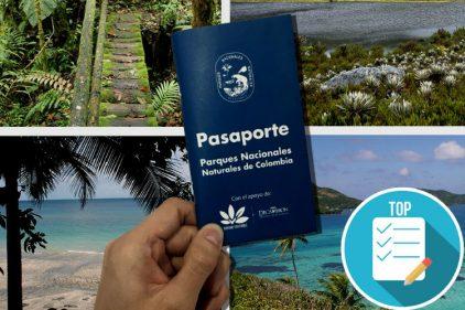 El 'Pasaporte de Parques Naturales de Colombia' te permitirá conocer la real belleza del país