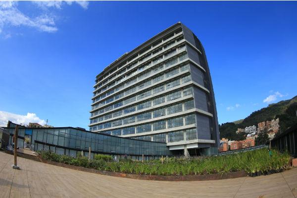 Un edificio que sana