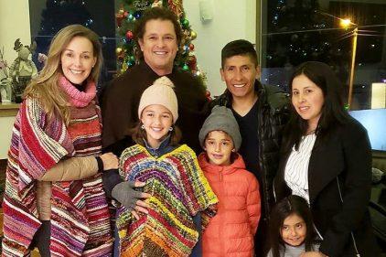 Nairo Quintana sorprendió a Carlos Vives y a más de seis mil colombianos en un emotivo encuentro