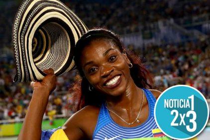 Caterine Ibargüen es la mejor atleta del mundo ¡Un triunfo que celebra toda Colombia!