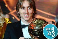 Luka Modric se queda con el balón de oro. Después de 10 años no es de Cristinano ni de Messi