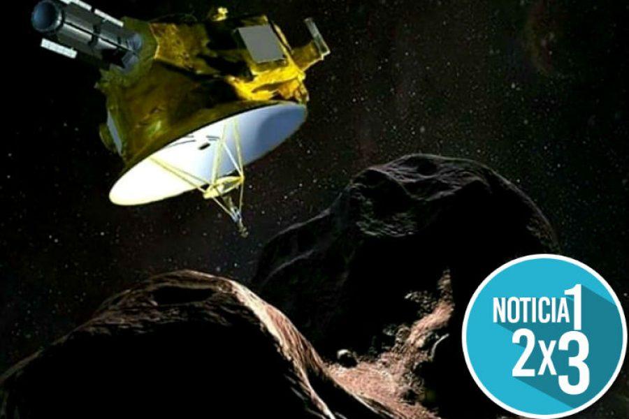 """La Nasa festejó el 2019 con un """"muñeco de nieve"""" espacial ¡Siguen haciendo historia!"""
