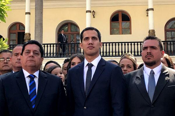 Las naciones que respaldan a Guaidó