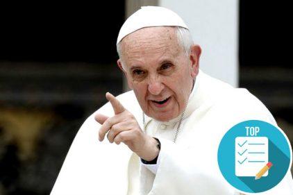 El papa Francisco inició el año sorprendiendo al mundo con dos nuevas declaraciones