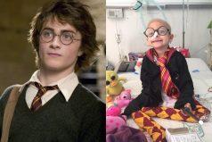 'Harry Potter' hizo realidad el sueño de esta niña con cáncer, ¡hermoso momento!