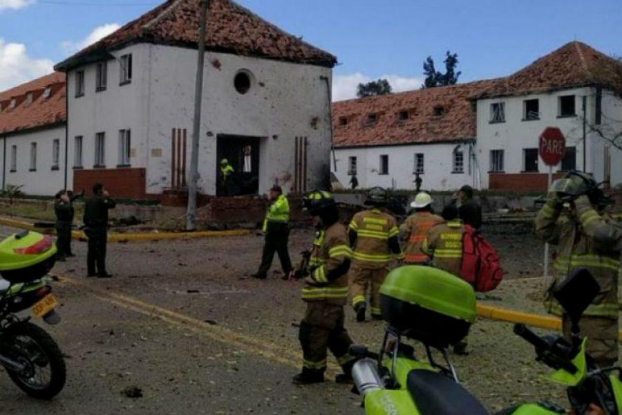 Los más recientes datos sobre la explosión en la Escuela de Policía General Santander