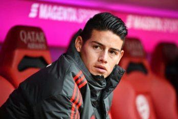 James Rodríguez no quiere seguir en el Bayern Múnich y sus dirigentes lo saben ¿Qué pasará con él?