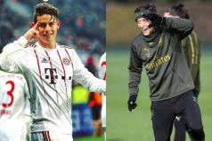 Por esta razón un diario británico comparó a James con el jugador alemán, Mesut Özil
