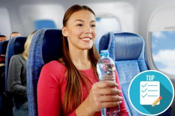 El precio de una botella de agua en el aeropuerto El Dorado de Bogotá comparado con Europa