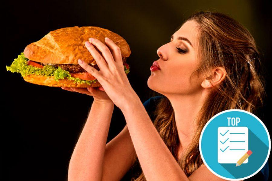 Comidas que son consideradas hipercalóricas por tener más de 2.000 calorías por plato