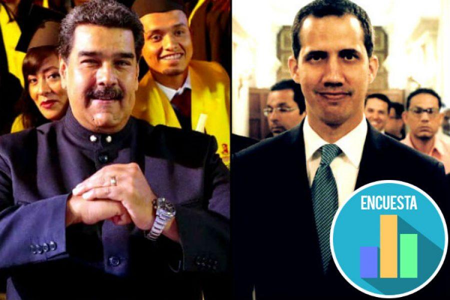 Las estrategias de Juan Guaidó y Nicolás Maduro para lograr ser el único presidente de Venezuela