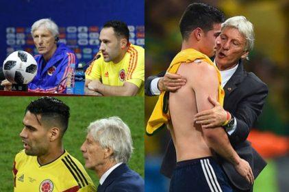 Las últimas impresiones de nuestros futbolistas sobre Pékerman, lo que dijo James es conmovedor