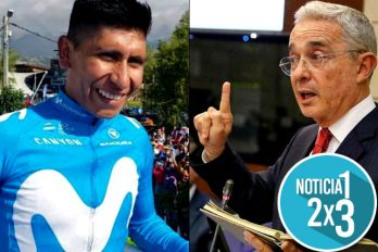Nairo Quintana y su familia visitaron al senador Álvaro Uribe y causaron conmoción en las redes sociales