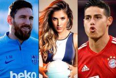 James Rodríguez debería jugar en el equipo de Lionel Messi según su exesposa Daniela Ospina