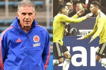 3 razones por las que Queiroz demostró que es un gran técnico para la Selección ¡Tuvo un buen comienzo!