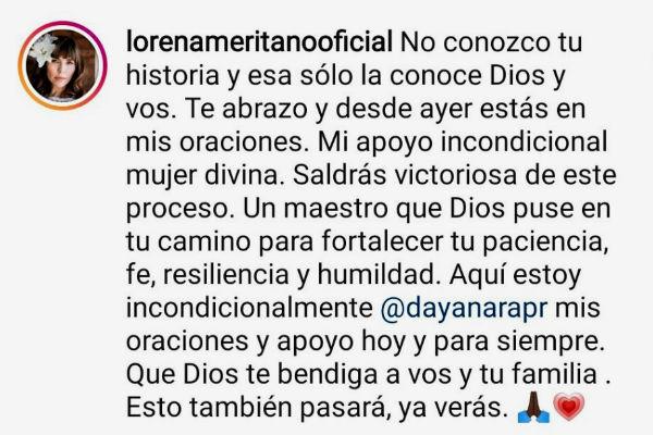 Lorena Meritano lo