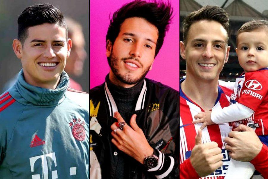 ¡Hombres guapos y colombianos! Todos amamos a James y a Arias, pero, 😍 Yatra no puede ocultarlo 😍