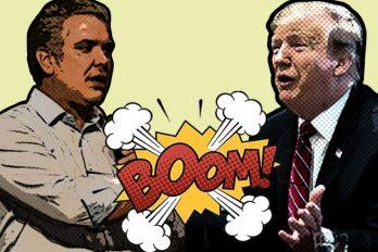 ¡Para alquilar balcón! Trump nuevamente acusa a Duque y pone en jaque esta amistad política