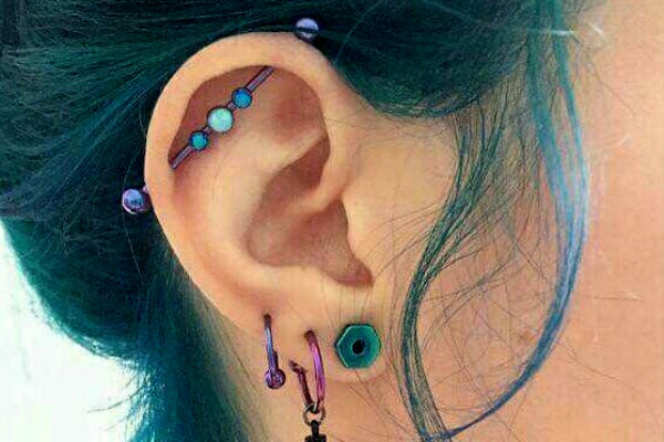 Se trata del Daith piercing
