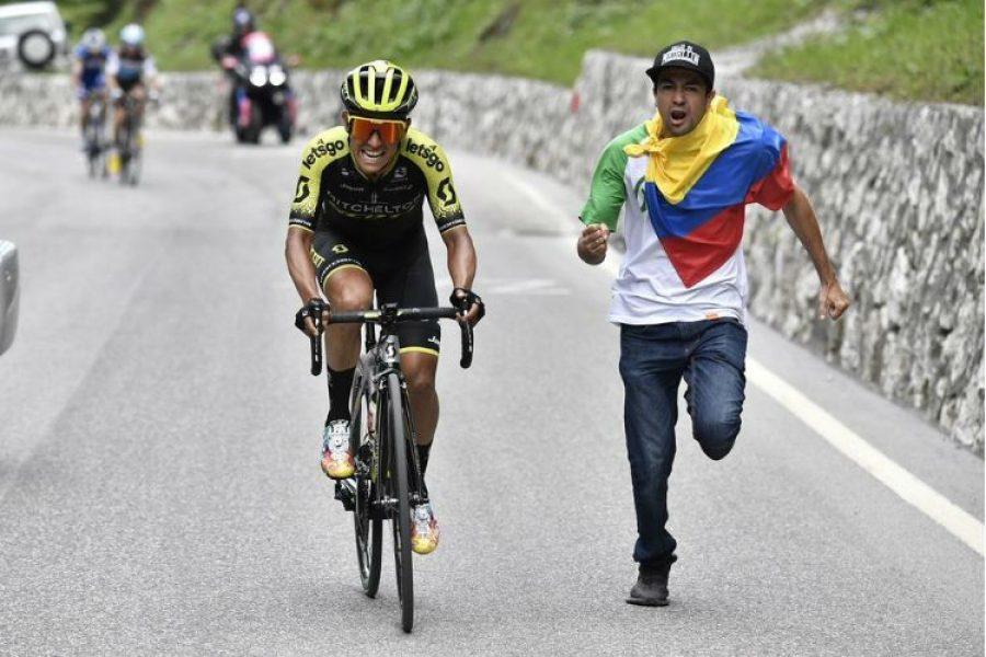 El 'Chavito' llenó de alegría este día ?? ¡Esteban Chaves gana la etapa 19 del Giro de Italia!