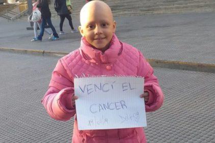 Después de 52 quimioterapias venció el cáncer: la enseñanza de vida de una niña de 8 años 💪🏻💪🏻