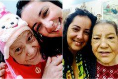 La enfermera que adoptó una anciana con cáncer abandonada por su hija ¡Un ángel en vida 👏🏼👏🏼👏🏼!