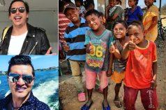 La felicidad de los niños de La Guajira con Alejandro Riaño y los humoristas: su obra no es un chiste