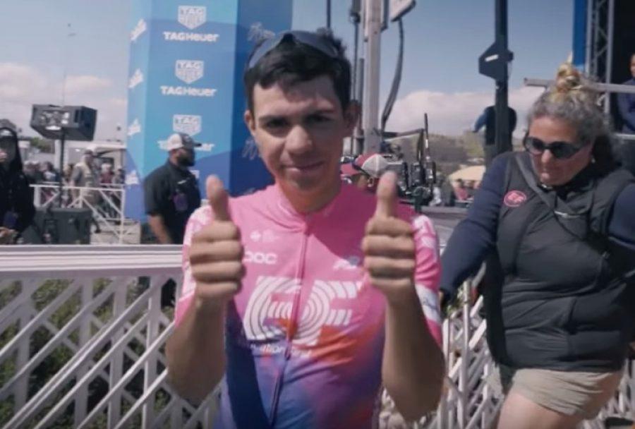 ¡Qué 'Monstruo'! Sergio Higuita, el colombiano de 22 años que brilla en el ciclismo mundial
