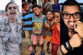 Niños de La Guajira estrenan colegio gracias a Riaño, Hassam y otros humoristas