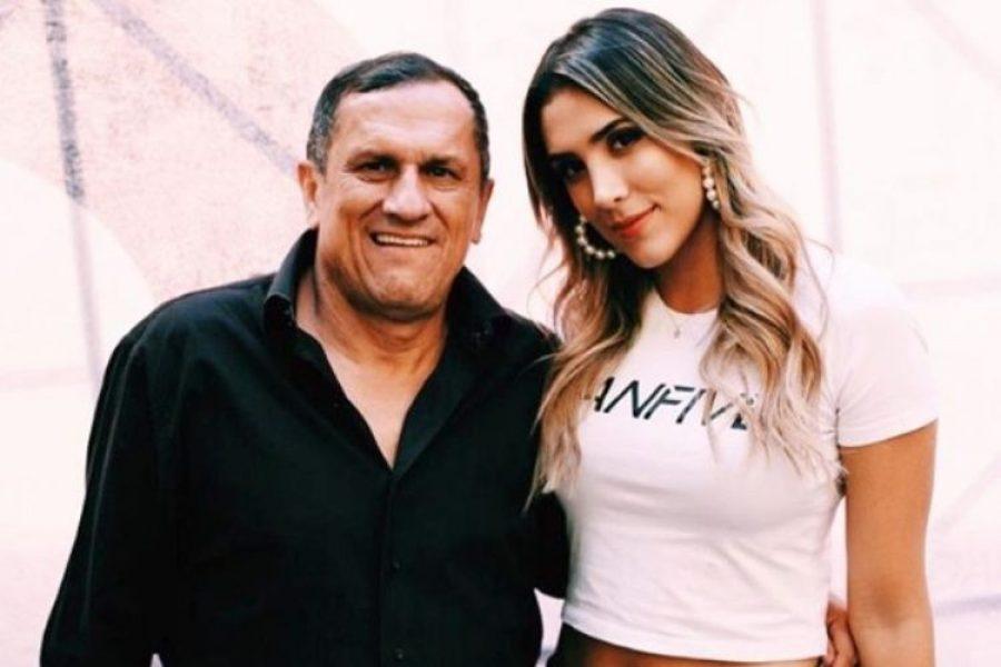 Daniela Ospina recordó a su padre con dos fotos muy personales ¡Emotivas imágenes!