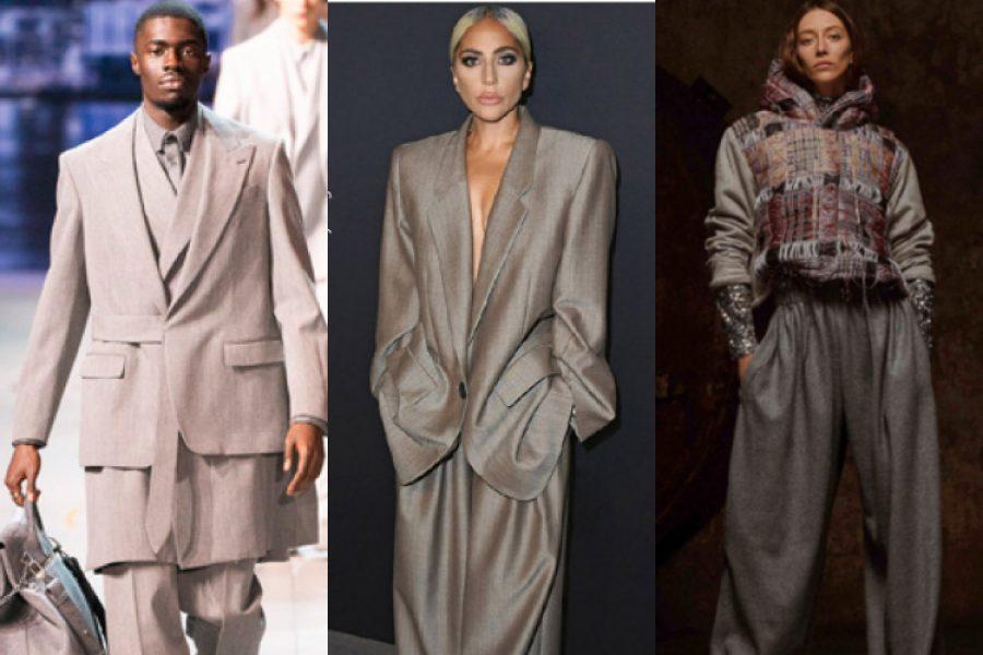 ¡Confección de talla! La tendencia por las prendas grandes que quiere tomarse el mundo de la moda