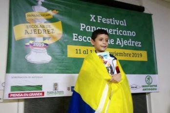 El colombiano de 7 años que se proyecta como maestro de ajedrez