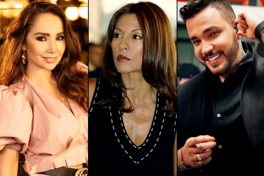 Amparo Grisales no se aguantó y mostró su inconformismo ante Paola Jara y Jessi Uribe