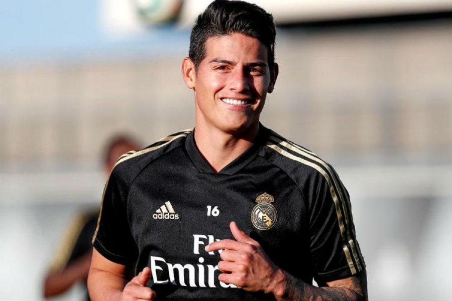 James Rodríguez ya recibió su lujoso regalo de Navidad en el Real Madrid