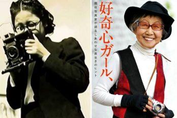Con 104 años la primera reportera gráfica de Japón sigue haciendo fotos