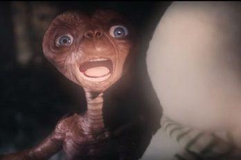 El conmovedor regreso de 'ET' a la Tierra tras 37 años para compartir con su gran amigo