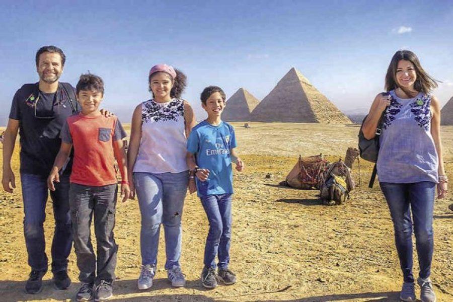 El viaje de una familia colombiana durante un año por el mundo que deja una lección de vida