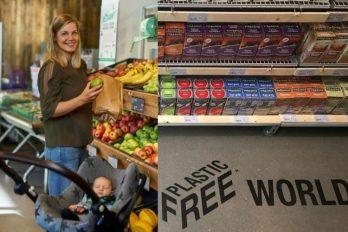 Así funciona el primer supermercado libre de plástico en el mundo