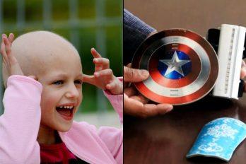 Sobreviviente del cáncer crea manilla antiestrés para niños en quimioterapia