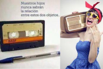 Cosas que solo entendemos los que usábamos casette y escuchábamos radio