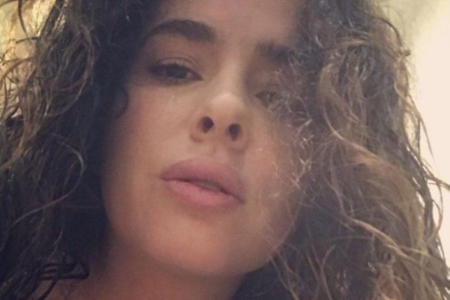 Danna García sale a la calle tras tener COVID-19 y comparte imagen que causa revuelo
