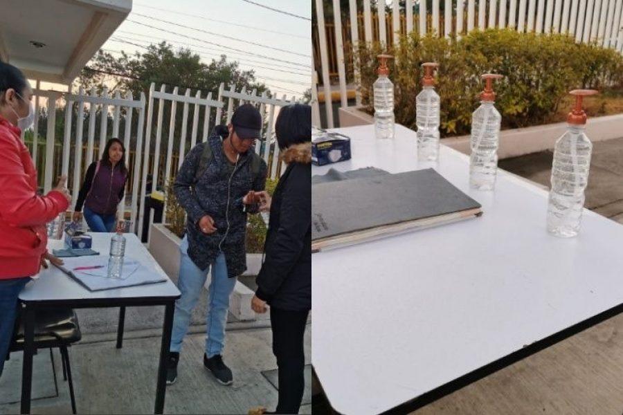 Estudiantes elaboran y donan grandes cantidades de gel antibacterial a hospitales