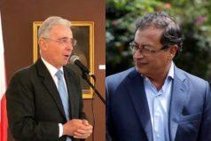 Uribe y Petro coinciden por primera vez: el coronavirus los une en una idea