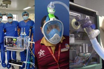 Universidades de Colombia hacen ventiladores y Sena máscaras para pacientes de COVID-19