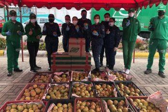 20 toneladas de alimentos cultivados por campesinos de Boyacá son donados en una cárcel