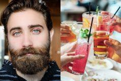 Tener barba y consumir alcohol aumentarían los riesgos de contagiarse de COVID-19