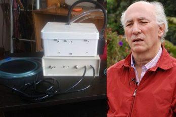 """Docente colombiano crea respirador artificial y pasa como """"exitosas"""" las primeras pruebas"""