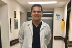Hijo de un año del primer médico muerto por COVID-19 esta contagiado del virus