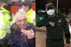 Indignación por agresión de Policía a un anciano: así va el caso y un final feliz