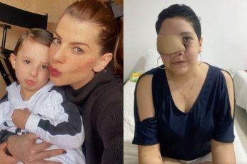 """Mujer con metástasis pide ayuda para """"ver crecer a sus hijos"""" y Carolina Cruz la apoya"""